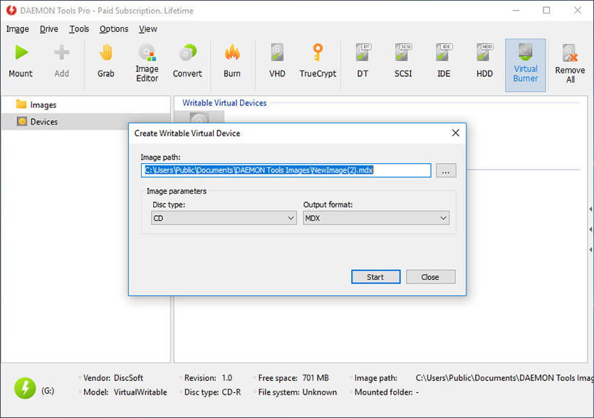 DAEMON Tools Pro 8.3.0.0759 With Crack & key Plus Serial Number (Latest Version)