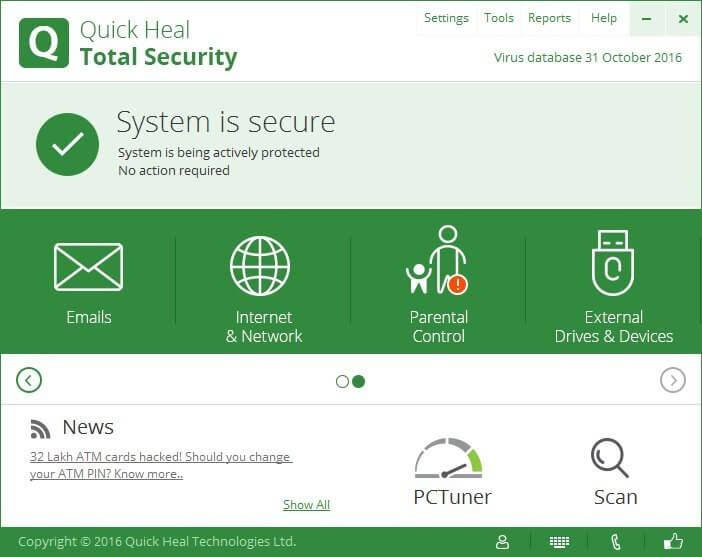 Quick Heal Total Security Crack With Keygen Download 2021