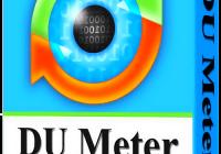 DU Meter 7.30 Crack With Serial Key Download