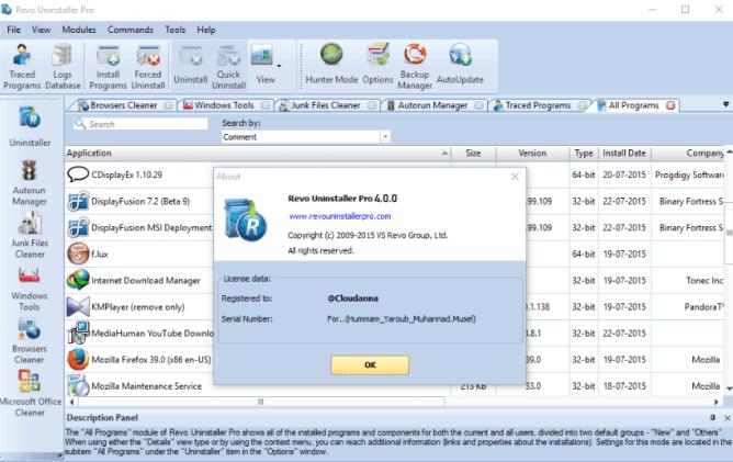 Revo Uninstaller Pro 4.4.0 Crack With Keygen Download