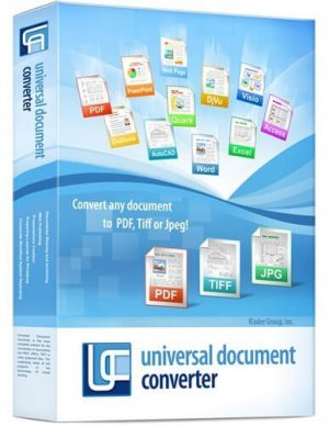 Universal Document Converter 6.9 Crack With License Key Download