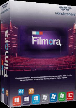 Wondershare Filmora X 10.1.20.16 With Crack Download
